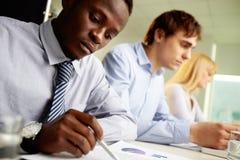 Diversiteit in zaken Stock Foto