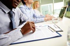 Diversiteit in zaken Stock Foto's
