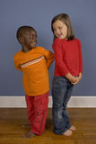 Diversity. A series of images showing children of Diverse backgrounds Royalty Free Stock Image