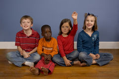 Diversity. A series of images showing children of Diverse backgrounds Royalty Free Stock Photography