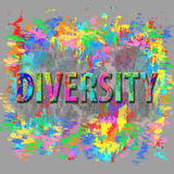 Diversity abstract concept. Royalty Free Stock Photos