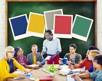 Diversity Big Data Learning Information Studying Concept Stock Image