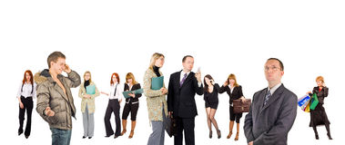 Diversity in business concept Royalty Free Stock Image