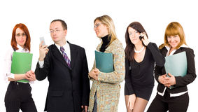 Diversity in business concept Royalty Free Stock Photos