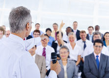 Diversity Business People Corporate Team Seminar Concept.  Stock Images