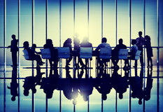 Diversity Business People Discussion Brainstorming Teamwork Conc Stock Photography