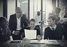 Diversity Business People Discussion Meeting Board Room Concept Stock Images