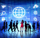 Diversity Business People Global Communication Financial Concept Royalty Free Stock Photos