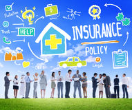 Diversity Business People Insurance Policy Discussion Concept Stock Photography