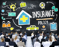 Diversity Business People Insurance Policy Seminar Conference Co Royalty Free Stock Images