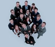 Portrait of smiling business people against white background. Diversity Business people Meeting Team Coorporate Concept Stock Image