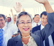 Diversity Business people Meeting Team Voting Concept Stock Photos