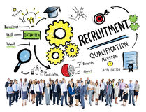 Diversity Business People Recruitment Profession Concept Royalty Free Stock Photos