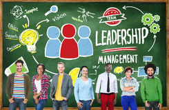 Diversity Casual People Leadership Management Team stock photography