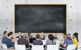 Diversity Casual People Meeting Brainstorming Concept Royalty Free Stock Photo