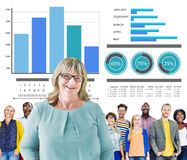 Diversity Casual People Strategy Leadership Team Concept Royalty Free Stock Image