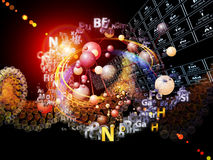 Diversity of Chemical Elements Stock Photos
