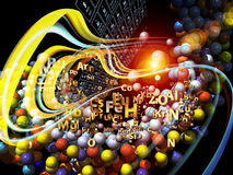 Diversity of Chemical Elements Stock Images
