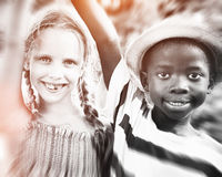 Diversity Children Childhood Friendship Cheerful Concept Royalty Free Stock Photography