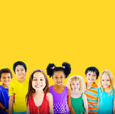 Diversity Children Friendship Innocence Smiling Concept Royalty Free Stock Images