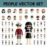 Diversity Community People Flat Design Icons Concept Stock Image