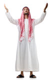 Diversity concept with  arab Royalty Free Stock Photography