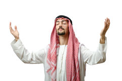 Diversity concept with  arab Royalty Free Stock Photo