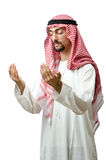 Diversity concept with  arab. Diversity concept with young arab Stock Photo