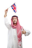 Diversity concept with  arab Royalty Free Stock Images