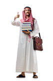 Diversity concept with  arab. Diversity concept with young arab Royalty Free Stock Photography