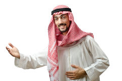 Diversity concept with young arab Royalty Free Stock Image