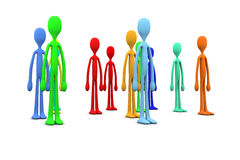 Diversity Crowd Royalty Free Stock Photos