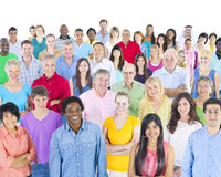 Diversity Crowd Community Crowd Casual Concept Royalty Free Stock Photography