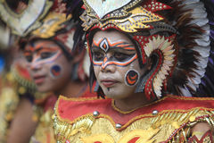 Diversity Dance Arts Festival Indonesia. Dancers prepare now to participate in the dance festival artistic diversity in Solo, Central Java, Indonesia. The Stock Photo