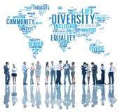 Diversity Ethnicity World Global Community Concept.  Stock Photography