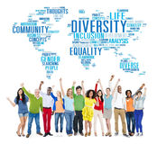 Diversity Ethnicity World Global Community Concept Royalty Free Stock Image