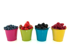 Diversity fresh fruit Stock Photos