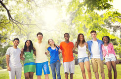 Diversity Friends Friendship Teamwork Huddle Concept Royalty Free Stock Photography