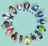 Diversity Group of Business People Community Team Concept.  Stock Photo