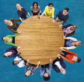 Diversity Group of Business People Teamwork Support Concept Stock Image