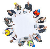 Diversity Group of People Brainstorming Meeting Ideas Concept Royalty Free Stock Photography