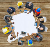 Diversity Group of People Brainstorming Meeting Ideas Concept Royalty Free Stock Photos