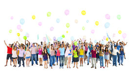 Diversity Group Students Party Time Concept Royalty Free Stock Images