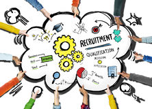 Diversity Hands Recruitment Search Opportunity Concept Stock Photos