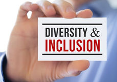 Diversity and inclusion Royalty Free Stock Photos