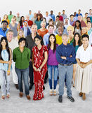 Diversity Large Group of People Multiethnic Concept Stock Photos