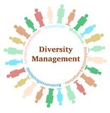 Diversity Management Stock Photo