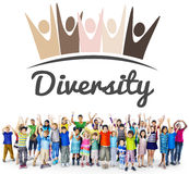 Diversity Nationality Unity Togetherness Graphic Concept Royalty Free Stock Photos