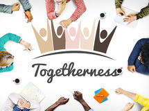 Diversity Nationality Unity Togetherness Graphic Concept Stock Photography