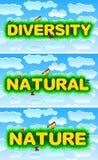 Diversity, Natural, Nature Royalty Free Stock Photos
